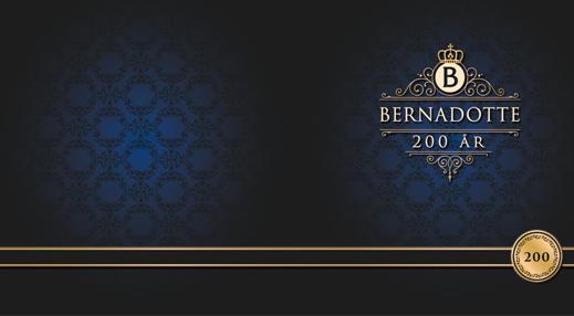 Bernadotte firar 200-årsjubileum