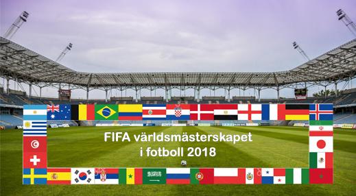 Världsmästerskapet i fotboll 2018 i Ryssland
