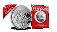 Officiellt Coca-Cola silvermynt