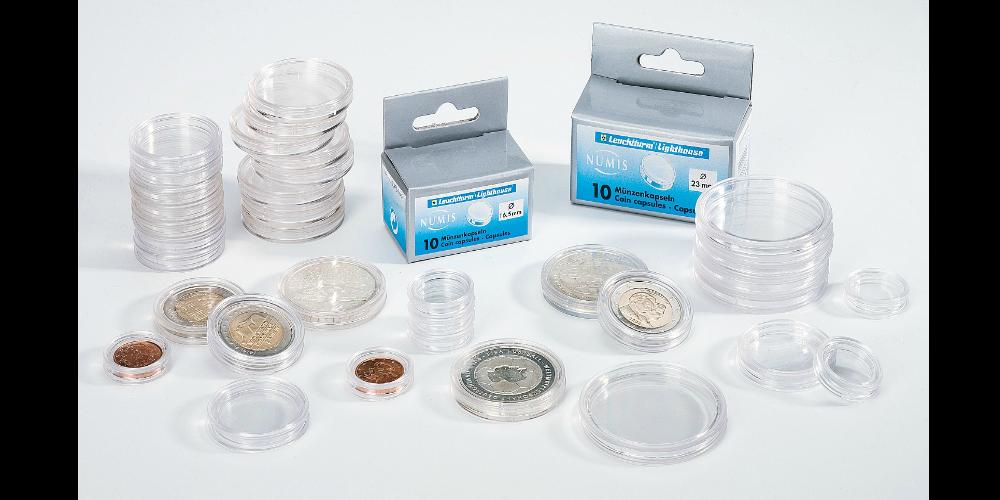 Storpack myntkapslar om 100 stycken