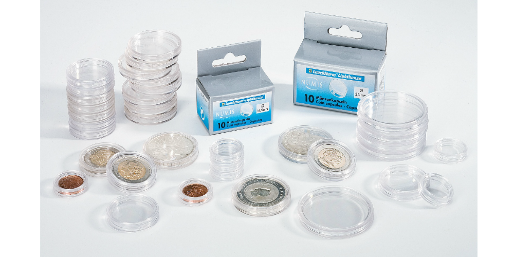 100 stcyken myntkapslar