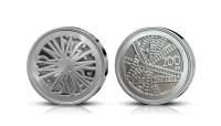 150 år på räls firas med ett silvermynt