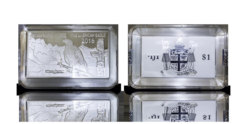 American Eagle mynt-tacka i 99,9 % silver