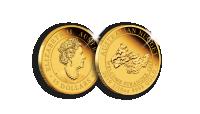 Jubileumsutgåva av australiesiska Golden Nugget i 99,99 % guld