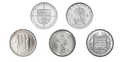 5 kr jubileumsset 1935-1966