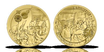 50€ The Great War guldmynt