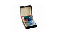 Modern svart arkivbox till mynt, sedlar,kort, brev eller dina favoritsalarobjekt