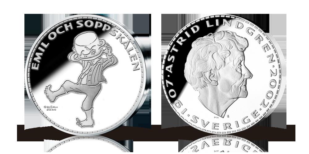 Emil och Soppskålen silvermedalj