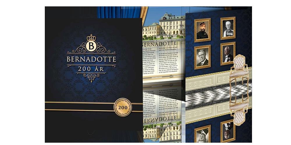 Bernadotte 200 år samlingsmapp