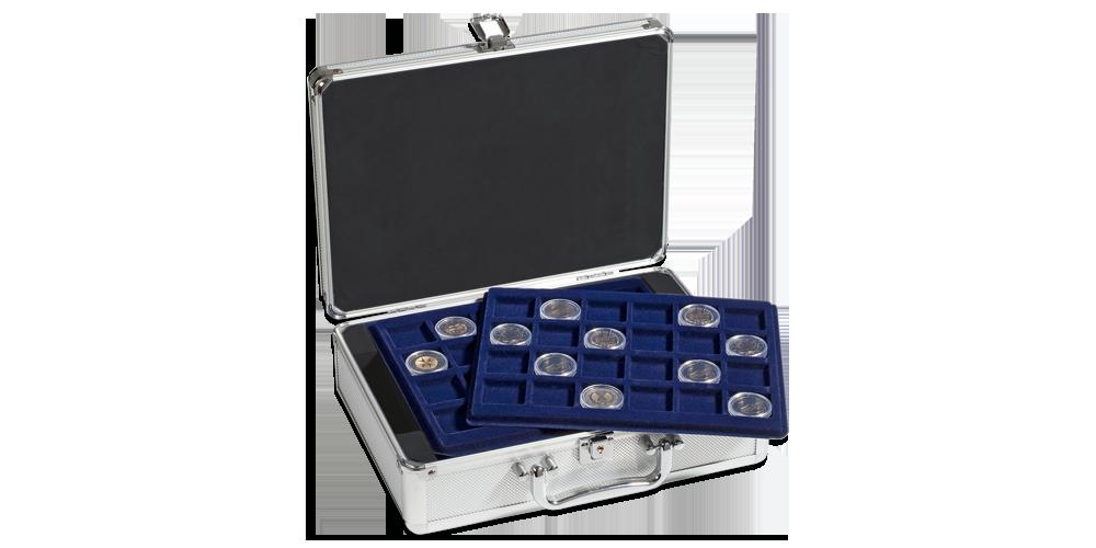 Prkatisk myntväska med plats för 144 mynt