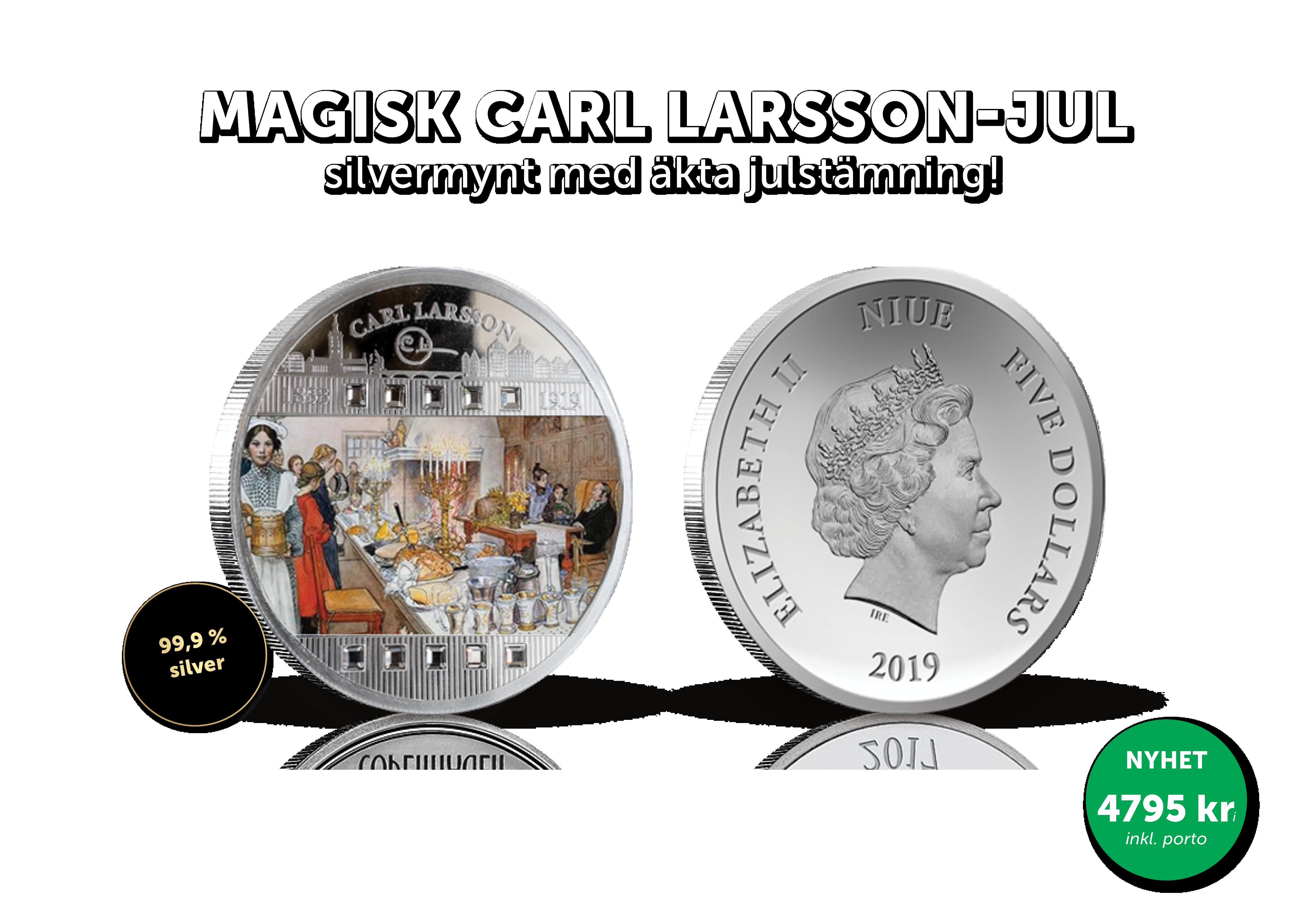 Magisk Carl Larsson-jul