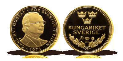 Carl XVI Gustaf guldmedalj