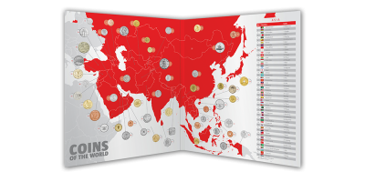 Coins of the World -Asia