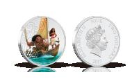 Officiellt Disney Vaiana mynt i 99,9 % silver