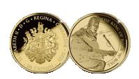 Elvis Presley_1-4 crown guldmynt