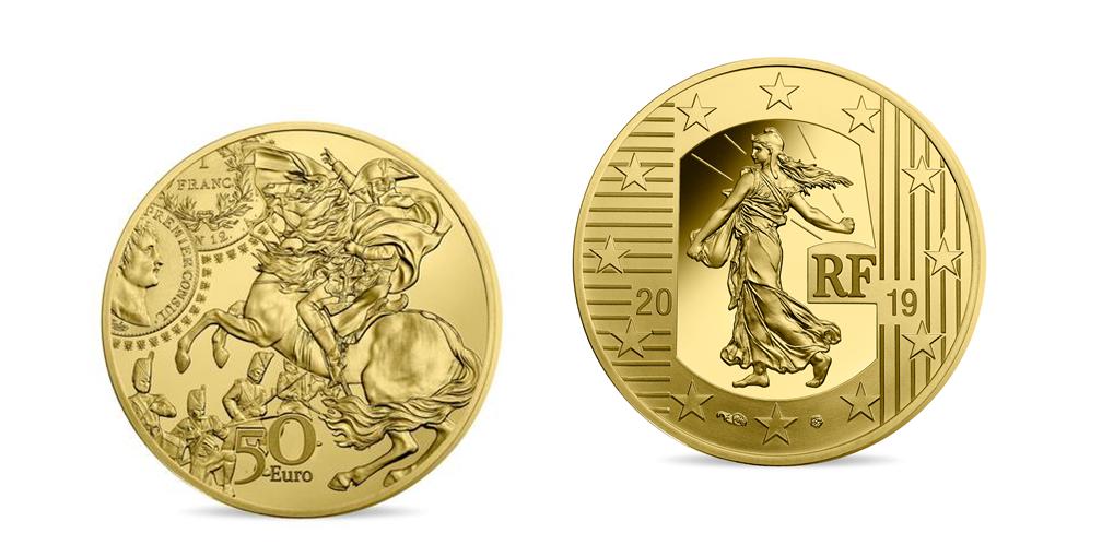 Napoleon mynt i fairmined guld