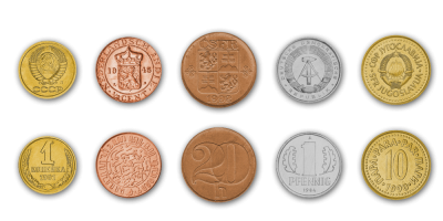 Extinct countries coinset