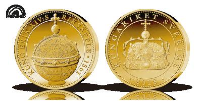 Fairmined Bernadotte 200år medalj