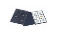 Praktiskt fickalbum med plats för 60 mynt i storlek 135 x 190 mm