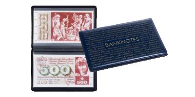 ROUTE Fickalbum för sedlar upptill 210 x 125 mm