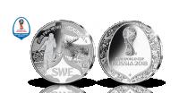 Officiell medalj för FIFA världsmästerskap i fotboll 2018 - Sverige