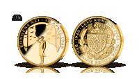 Kungens nej – minnesmedalj i 99,9 % fairmined guld