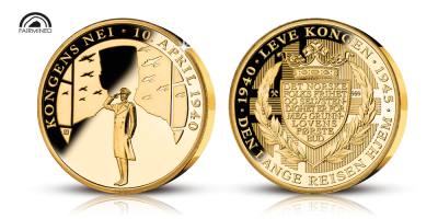 Kungens nej fairmined guldmedalj