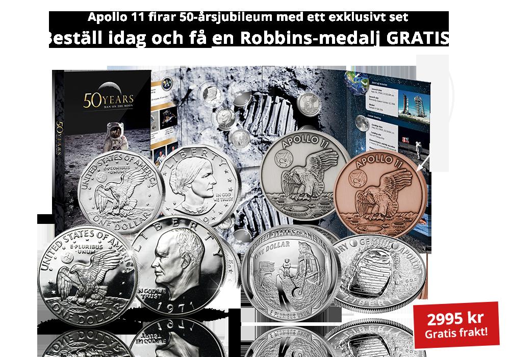 Apollo 11 firar 50--årsjubileum med ett exklusivt set!