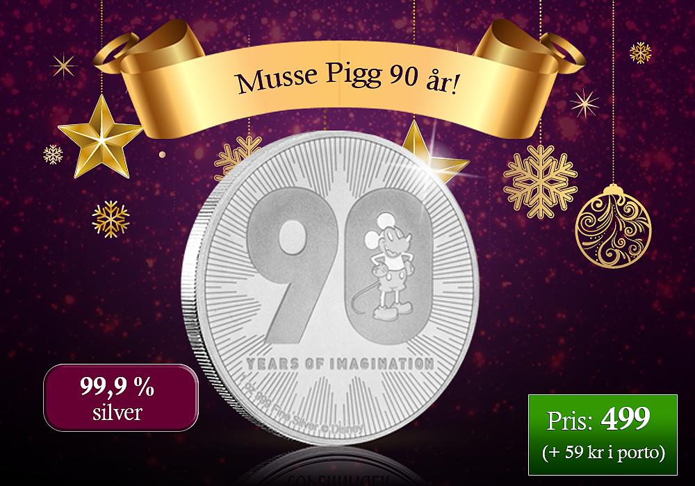 Musse Pigg 90 år