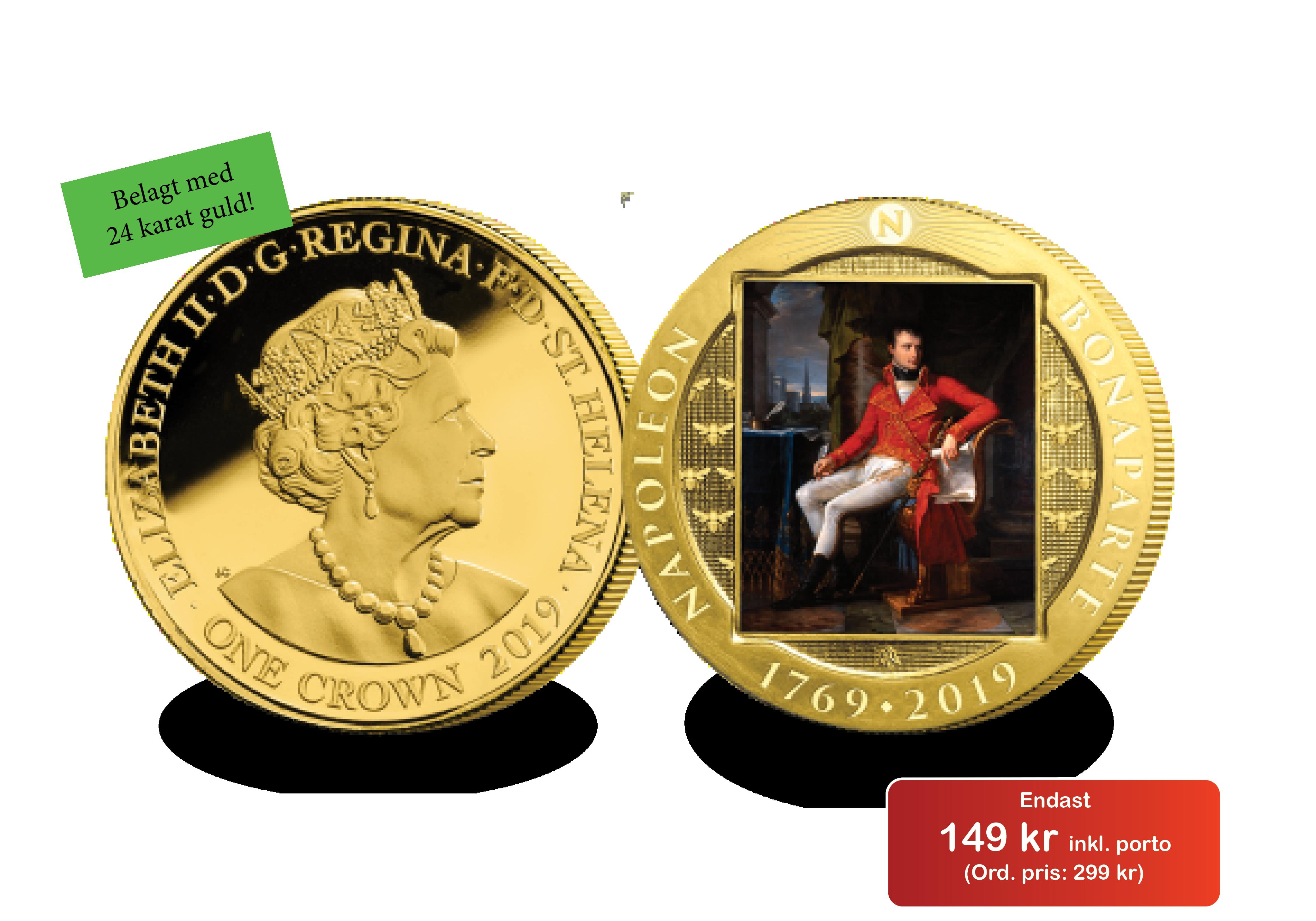 "Napoleon-mynt ""Förste konsul"" till kampanjpris"