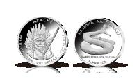 Mynt i 99,9 % silver som hedrar en av de mest berömda indianstammarna, Apache-stammen.