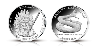 Native American Silver Dollars