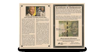Nelson Mandela Banknote album
