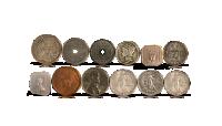 Pearl Harbor set innehållandes 12 mynt