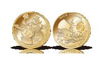 Pippi på Kurrekurreduttön i guld
