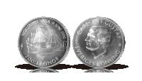 Regalskeppet Vasa – det mest kända svenska skeppsvraket på en 200 krona i silver