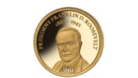 USA:s mest kända presidenter på ett mynt i hela 99,9 % guld!