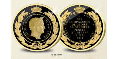 Saint Helena War Medal Black and Yellow