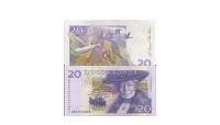 20 kronorssedel med Selma lagerlöf