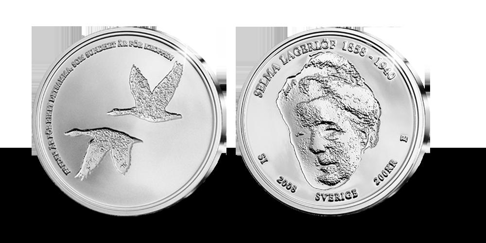 Handplockat jubileumsset för att hedra Selma Lagerlöf