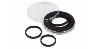 Skyddskapsel passar till mynt med en diameter på 21-62 mm. (10stk.)