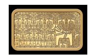 Dalahästen i guld