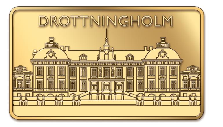 Drottningholms slott_guldtacka