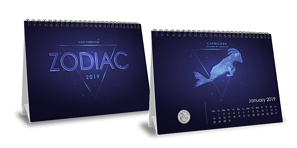 Astrologisk myntkalender 2019